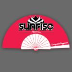 Sunrise Fan Fuchsia